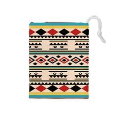 Tribal Pattern Drawstring Pouches (medium)