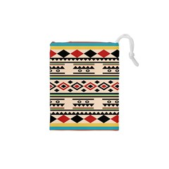 Tribal Pattern Drawstring Pouches (xs)  by BangZart