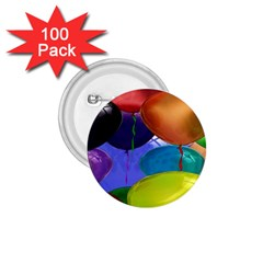 Colorful Balloons Render 1 75  Buttons (100 Pack)