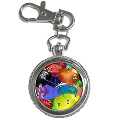 Colorful Balloons Render Key Chain Watches by BangZart