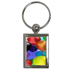 Colorful Balloons Render Key Chains (rectangle)  by BangZart