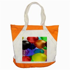 Colorful Balloons Render Accent Tote Bag