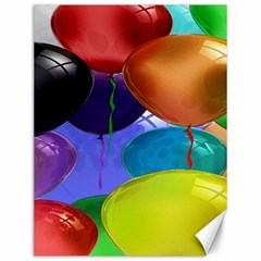 Colorful Balloons Render Canvas 12  X 16   by BangZart