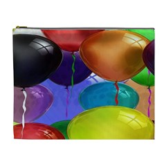 Colorful Balloons Render Cosmetic Bag (xl)