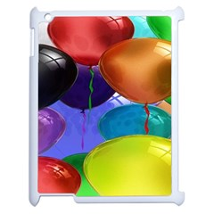 Colorful Balloons Render Apple Ipad 2 Case (white)