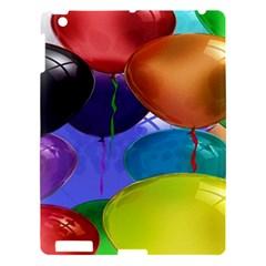 Colorful Balloons Render Apple Ipad 3/4 Hardshell Case