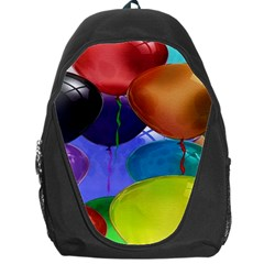 Colorful Balloons Render Backpack Bag by BangZart
