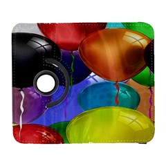 Colorful Balloons Render Galaxy S3 (flip/folio) by BangZart