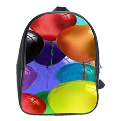 Colorful Balloons Render School Bags (xl)
