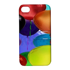 Colorful Balloons Render Apple Iphone 4/4s Hardshell Case With Stand by BangZart