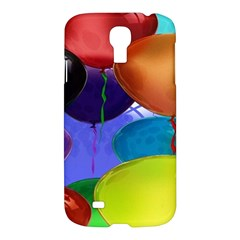 Colorful Balloons Render Samsung Galaxy S4 I9500/i9505 Hardshell Case by BangZart