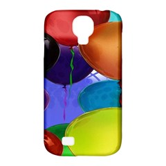 Colorful Balloons Render Samsung Galaxy S4 Classic Hardshell Case (pc+silicone)