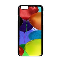 Colorful Balloons Render Apple Iphone 6/6s Black Enamel Case by BangZart