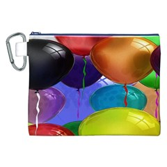 Colorful Balloons Render Canvas Cosmetic Bag (xxl) by BangZart
