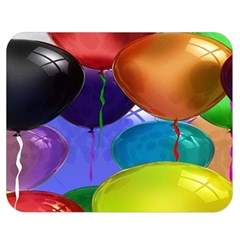 Colorful Balloons Render Double Sided Flano Blanket (medium)  by BangZart