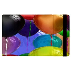 Colorful Balloons Render Apple Ipad Pro 12 9   Flip Case by BangZart