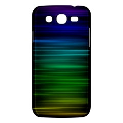 Blue And Green Lines Samsung Galaxy Mega 5 8 I9152 Hardshell Case  by BangZart