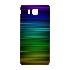 Blue And Green Lines Samsung Galaxy Alpha Hardshell Back Case