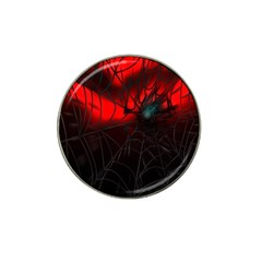 Spider Webs Hat Clip Ball Marker (4 Pack) by BangZart