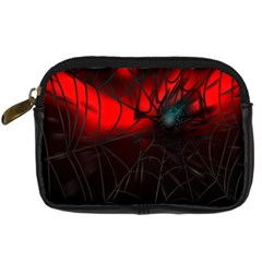 Spider Webs Digital Camera Cases by BangZart