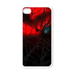 Spider Webs Apple Iphone 4 Case (white) by BangZart