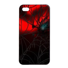 Spider Webs Apple Iphone 4/4s Seamless Case (black) by BangZart