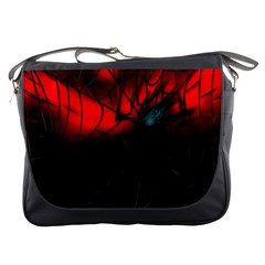 Spider Webs Messenger Bags by BangZart