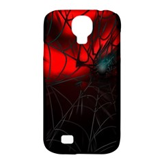 Spider Webs Samsung Galaxy S4 Classic Hardshell Case (pc+silicone) by BangZart