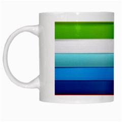 Colorful Plasticine White Mugs by BangZart