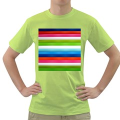 Colorful Plasticine Green T Shirt