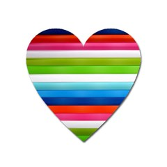 Colorful Plasticine Heart Magnet