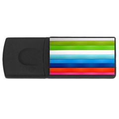 Colorful Plasticine Usb Flash Drive Rectangular (4 Gb)
