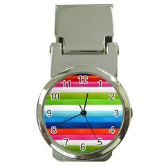 Colorful Plasticine Money Clip Watches by BangZart