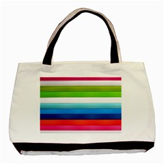Colorful Plasticine Basic Tote Bag