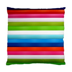Colorful Plasticine Standard Cushion Case (two Sides) by BangZart