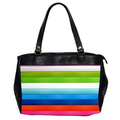 Colorful Plasticine Office Handbags (2 Sides)  by BangZart