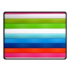 Colorful Plasticine Fleece Blanket (small) by BangZart