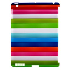 Colorful Plasticine Apple Ipad 3/4 Hardshell Case (compatible With Smart Cover) by BangZart