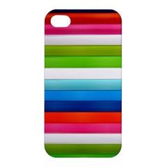 Colorful Plasticine Apple Iphone 4/4s Premium Hardshell Case by BangZart
