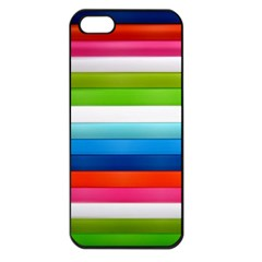 Colorful Plasticine Apple Iphone 5 Seamless Case (black)
