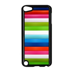 Colorful Plasticine Apple Ipod Touch 5 Case (black) by BangZart