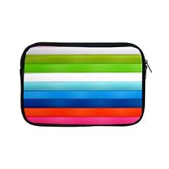 Colorful Plasticine Apple Ipad Mini Zipper Cases by BangZart