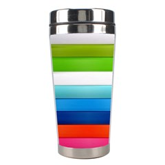 Colorful Plasticine Stainless Steel Travel Tumblers