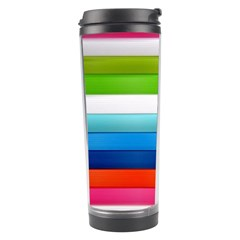 Colorful Plasticine Travel Tumbler by BangZart