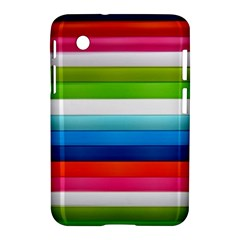 Colorful Plasticine Samsung Galaxy Tab 2 (7 ) P3100 Hardshell Case  by BangZart
