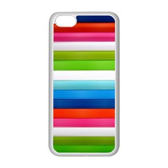Colorful Plasticine Apple Iphone 5c Seamless Case (white) by BangZart