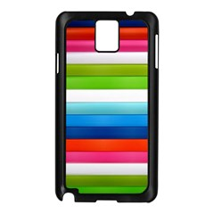 Colorful Plasticine Samsung Galaxy Note 3 N9005 Case (black)