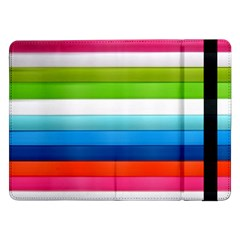 Colorful Plasticine Samsung Galaxy Tab Pro 12 2  Flip Case