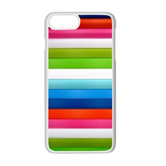 Colorful Plasticine Apple Iphone 7 Plus White Seamless Case by BangZart