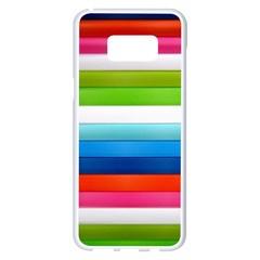 Colorful Plasticine Samsung Galaxy S8 Plus White Seamless Case